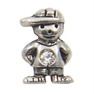 Picture of April Boy Birthstone Charm